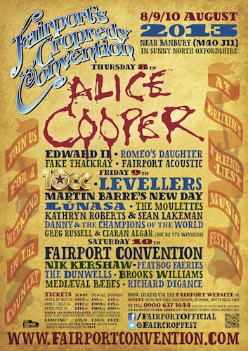 Fairport's Cropredy Convention logo