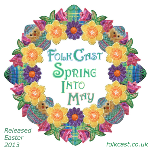 FolkCast Spring Into May logo